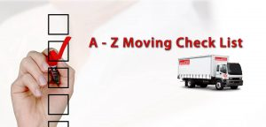 Brisbane Removalists A to Z of moving checklist