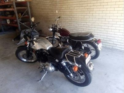 moving precious cargo with Brisbane Removalists motorbikes image