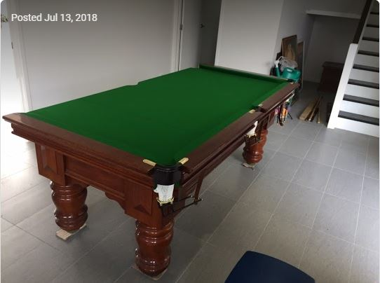 pool table moved by Brisbane Removalists