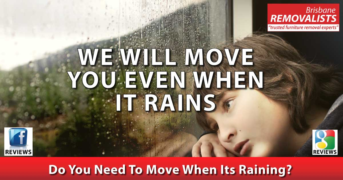 Brisbane Removalists will move you in the rain share image