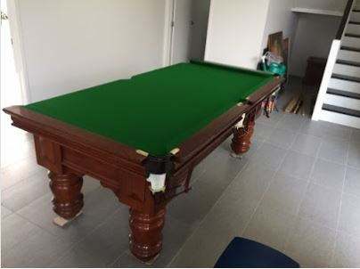 client understated the size of their pool table