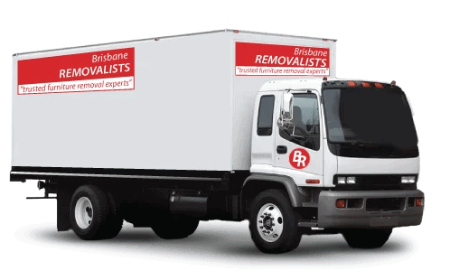 Professional Office Movers Brisbane truck image