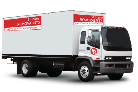 Urgent Last Minute Moves truck with Brisbane Removalists moving truck
