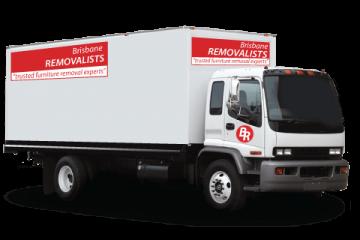 Ipswich Removals truck image