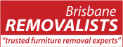 Brisbane Removalists trusted furniture removal experts main logo