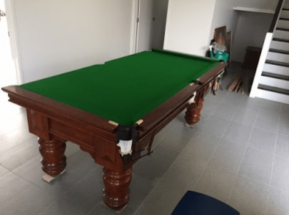 Brisbane Removalists small move professionals pool table image
